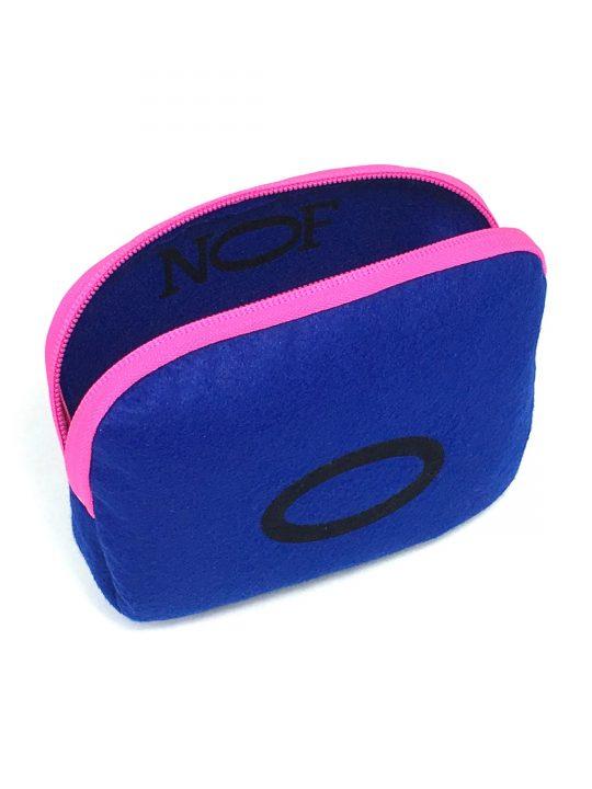 baby 0 colbolt blue w pink zip