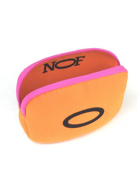 baby 0 orange w pink zip